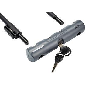 Bontrager Elite Bügelschloss mit Schlüssel & Kabel black